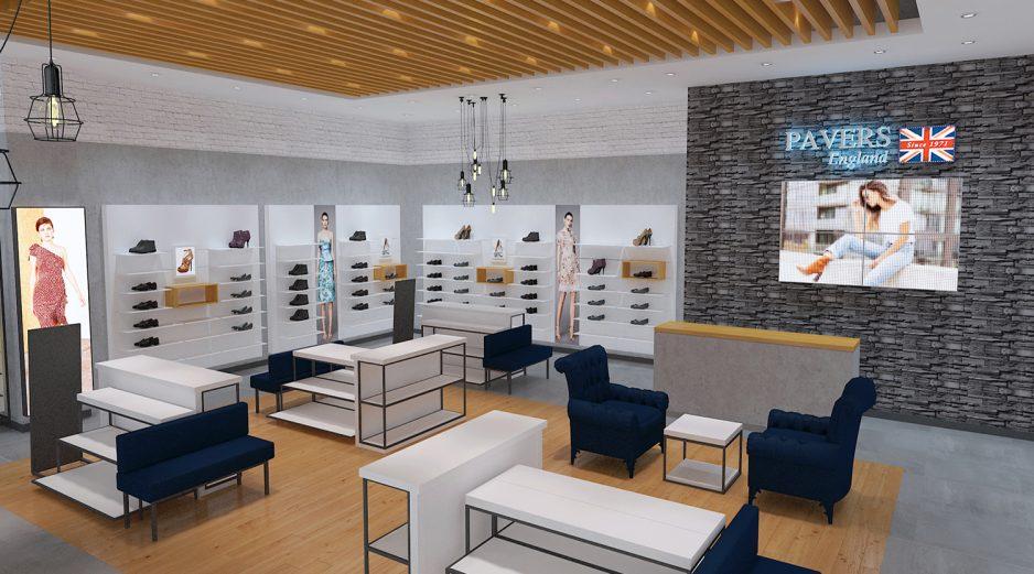 Custom Boutique Fashion Shoes Store Design Retail Footwear Shop Interior Design Ideas