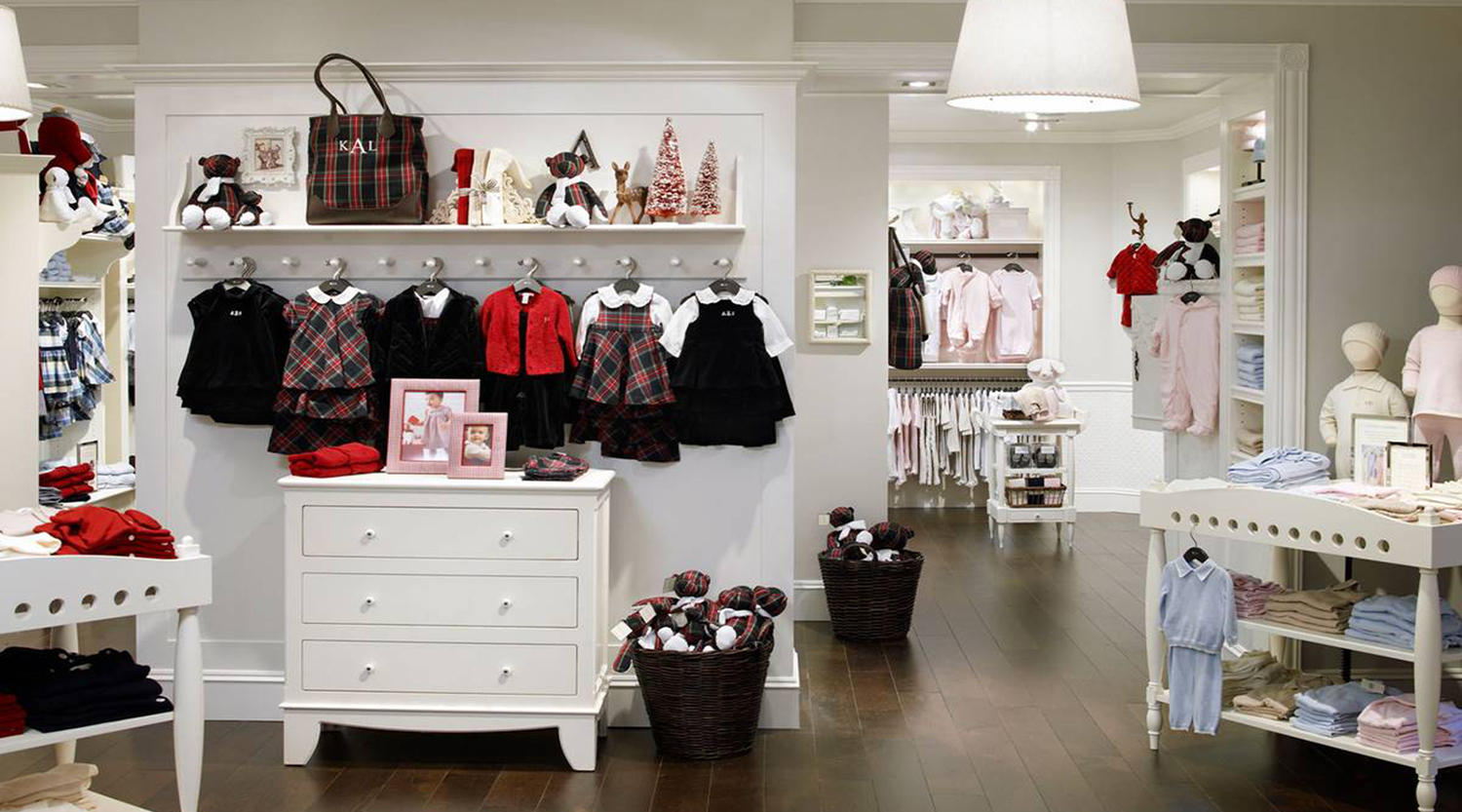 Threads Baby Clothing Stores Design - Boutique Store Design