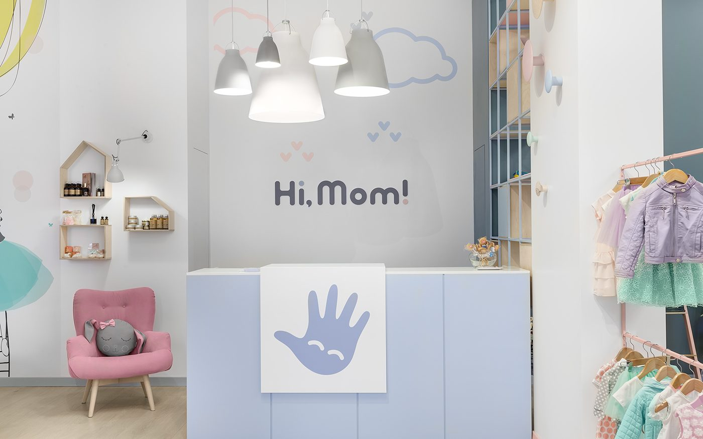 Cute Baby Boutique Clothing Furniture S Display Design Retail Interior Ideas