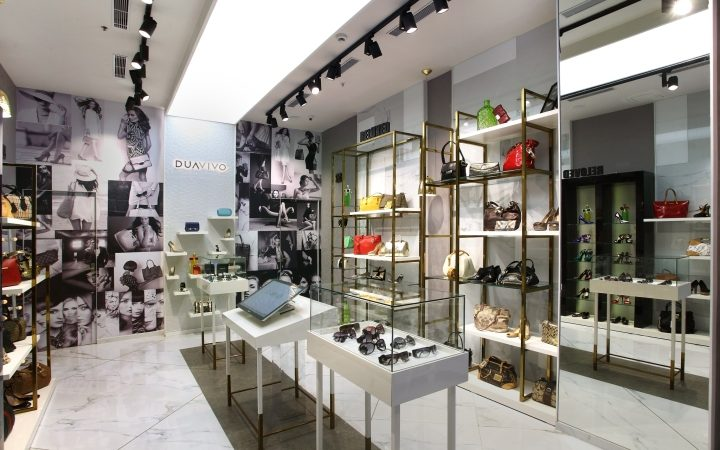 DuaVivo Bag Store Interior Design Display Furniture - Boutique Store ...