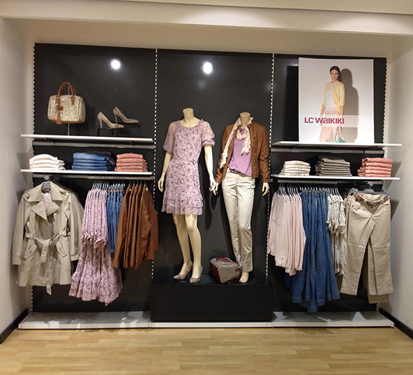 Clothes Store Floating Wall Display Shelves Design Ideas For Retail Boutique Store Fixtures Manufacuring Retail Shop Fitting Display Furniture Supply