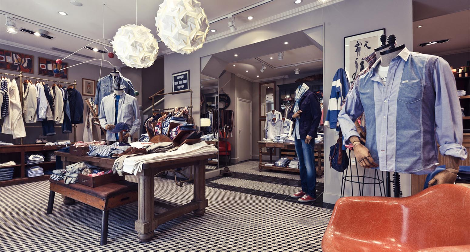 Fashion Retail Decoration Shops Design Ideas For Mens ...
