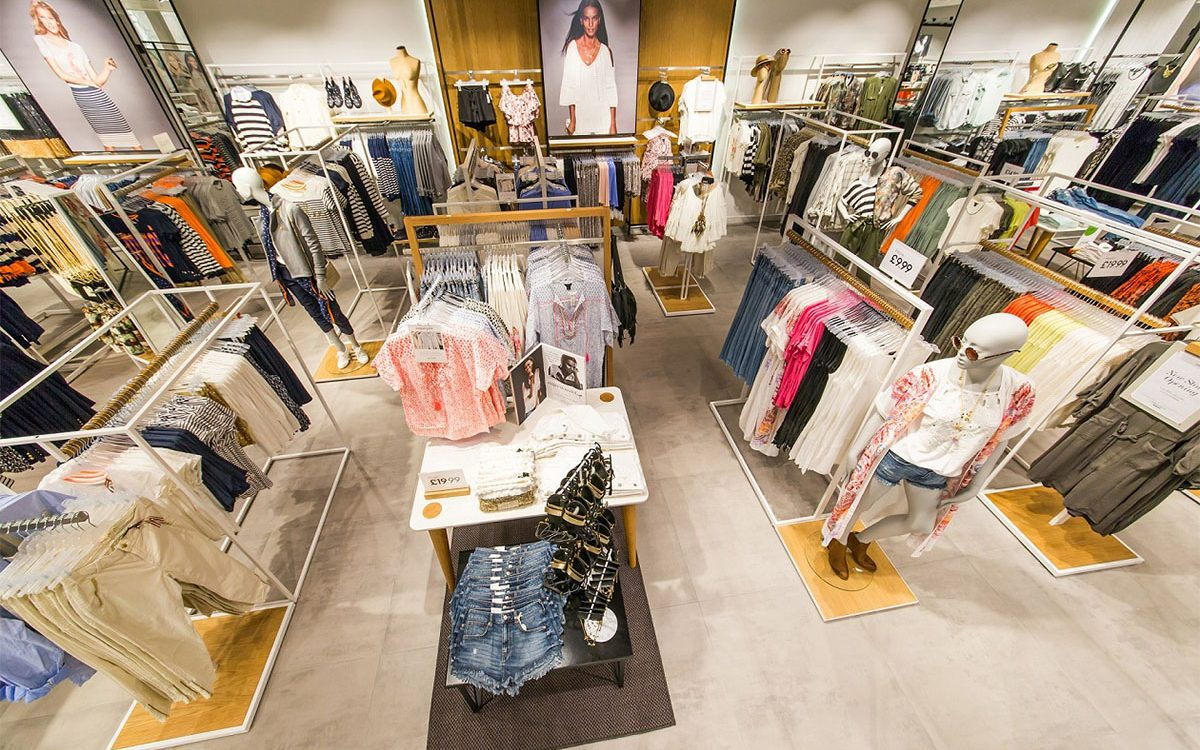 Garment boutique retail shop furniture interior design