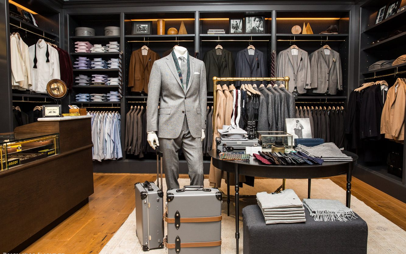 Men S Apparel Fashion Stores Interior Design Boutique
