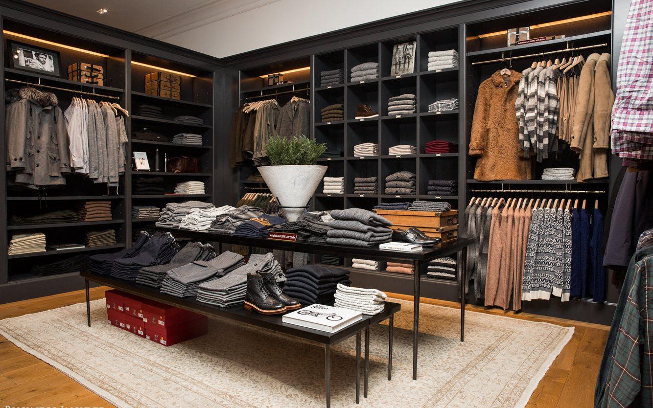 Men's Apparel Fashion Stores Interior Design - Boutique ...