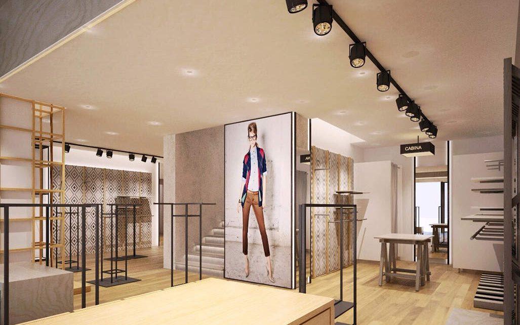 Men\'s Clothing Chain Store Interior Design Ideas - Boutique ...