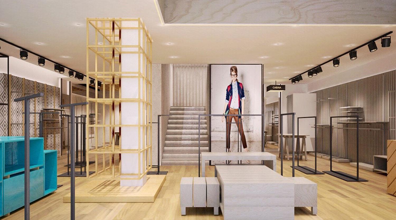 Men S Clothing Chain Store Interior Design Ideas