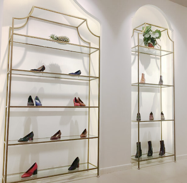 Wall Metal And Tempered Glass Shoe, Shoe Glass Case