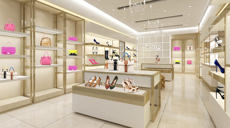 Handbag and Shoe Retail Store Display Furniture Design ...