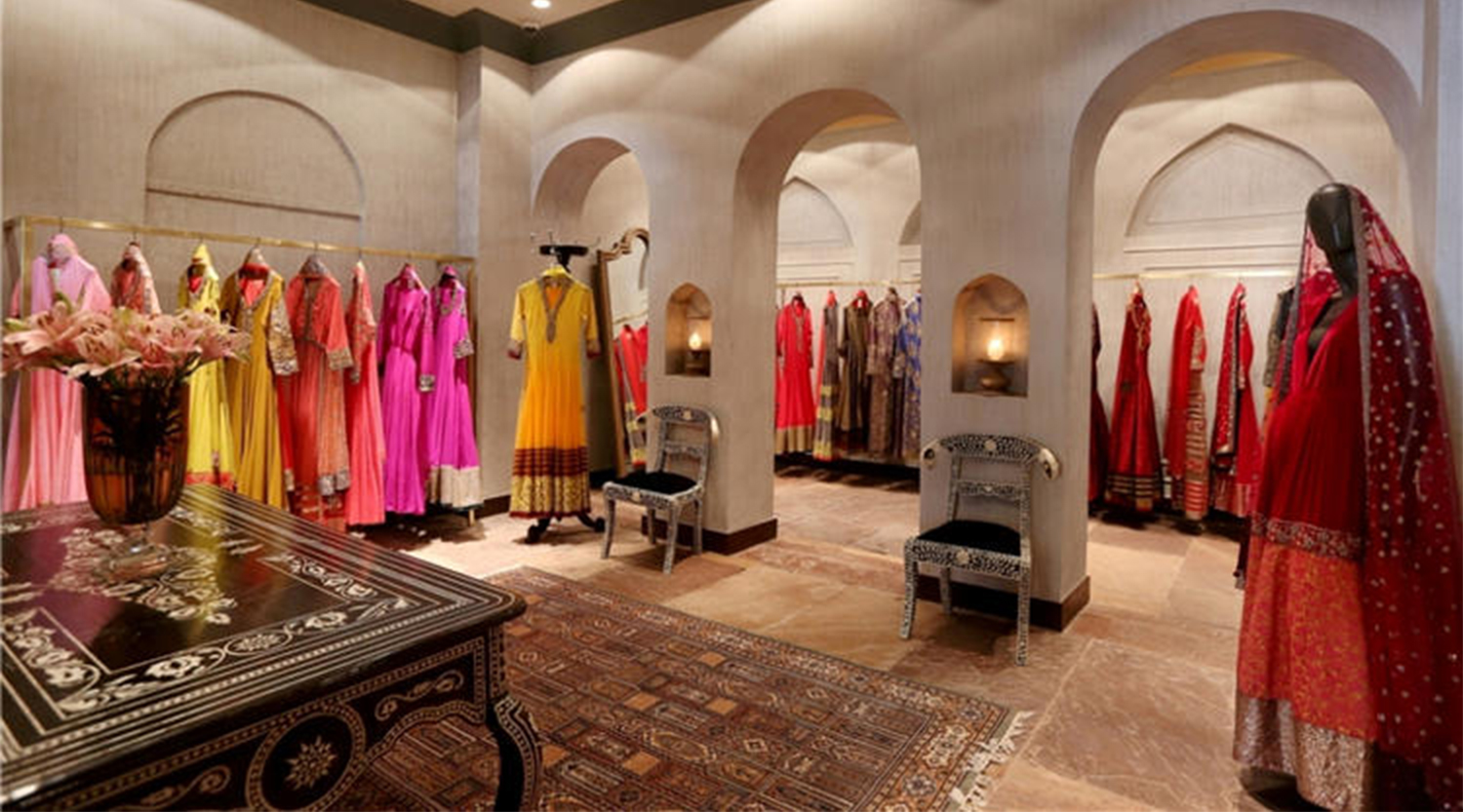 Indian Clothing Store Interior Design For Ladies Garment Shop Boutique Store Design Retail Shop Interior Design Ideas