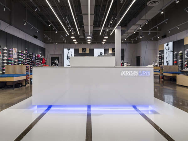 Modern Shop Counter Design For Shoe Store Boutique Store