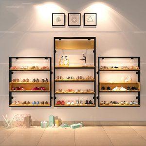 0feebb985bbab Fashion Promotion Childrens Shoe Rack Display Store. This product design ...