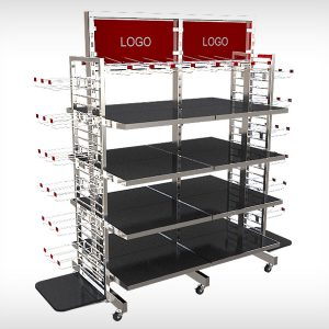 26097d53b Customized Boutique Display Rack Fixtures Manufacuring