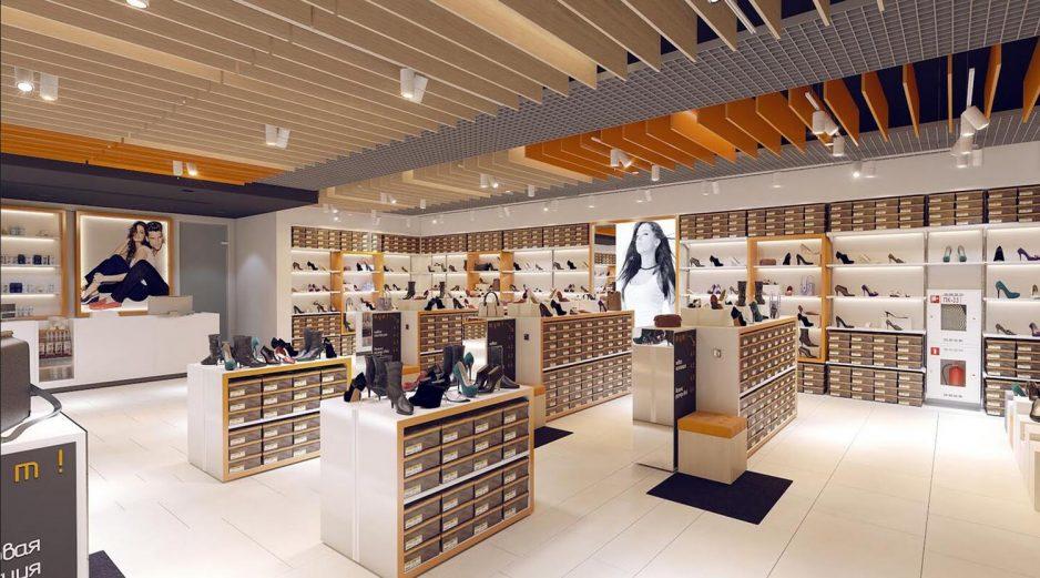 Retail Footwear Shop Interior Design Ideas