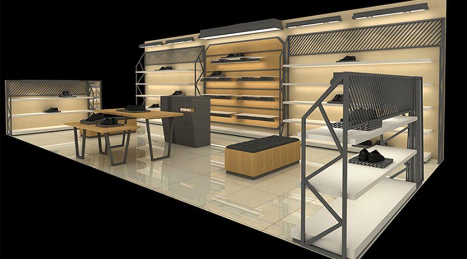 Custom Boutique Fashion Shoes Store Design, Retail Footwear ...