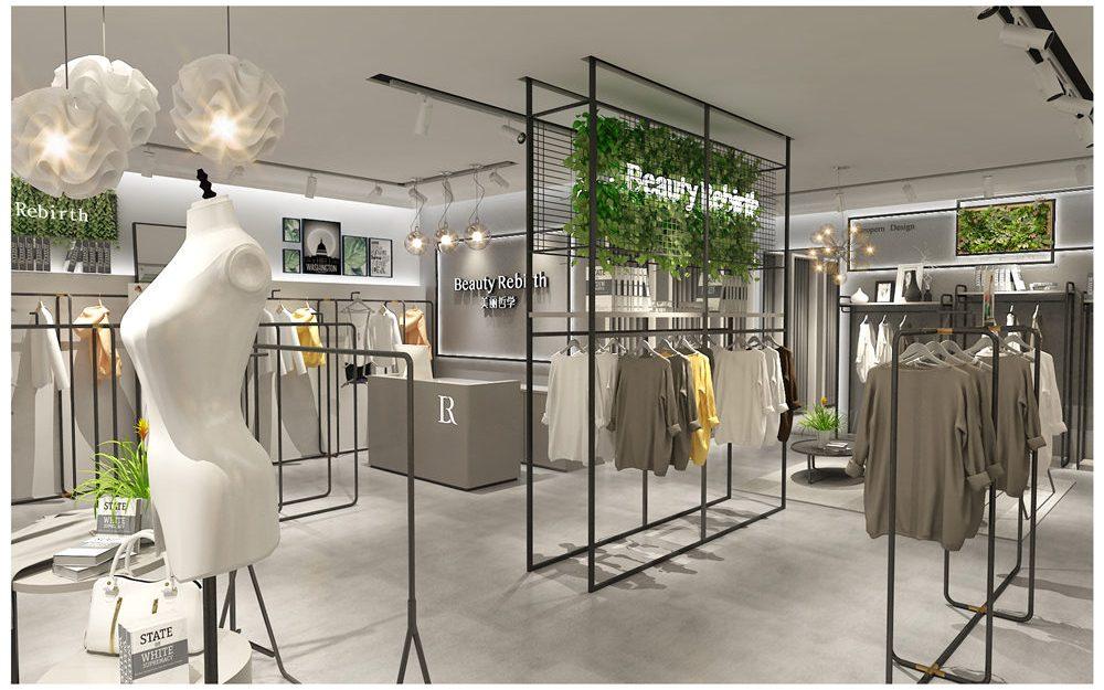 Womens Fashion Garment Clothing Store Layout Plan Design ...