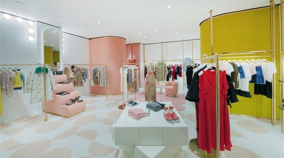clothes shop interior design ideas